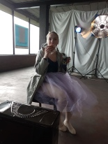 "Apollonia van den Brand ""Ballerina in blue"" : The making of"