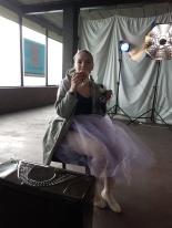 "Apollonia van den Brand ""Ballerina in blue"" : The making of"