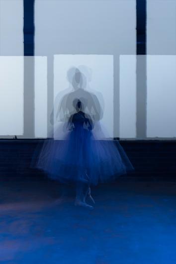 "Apollonia van den Brand ""Ballerina in blue"""